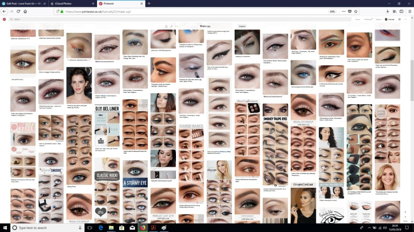 pinterest makeup board
